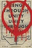 V For Vendetta Graffiti Movie Poster