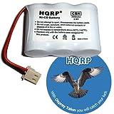 HQRP Cordless Phone Battery for V-tech / VTech 89-1338-00 / 89133800, 89-1338-00-00, BT-17333 / BT17333, BT-27333 / BT27333 Replacement, Office Central