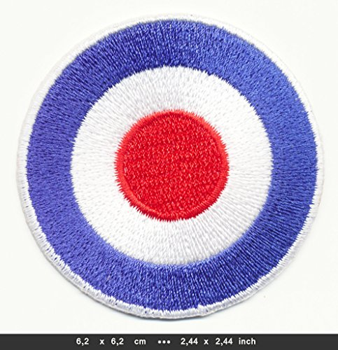 QUADROPHENIA Iron Sew On Cotton Patches Mods Vespa 60s Royal Airforce QDRP-02 by RSPS Embroidery n Decals -