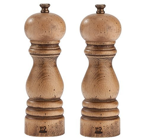 Peugeot Paris Classic Collection Antique 7-in Pepper and Salt Mill Set (Collection Salt Mill)