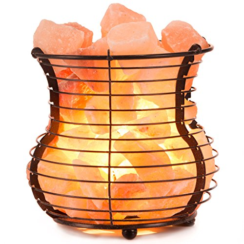 Crystal Allies Gallery: Natural Himalayan Salt Wire Mesh...