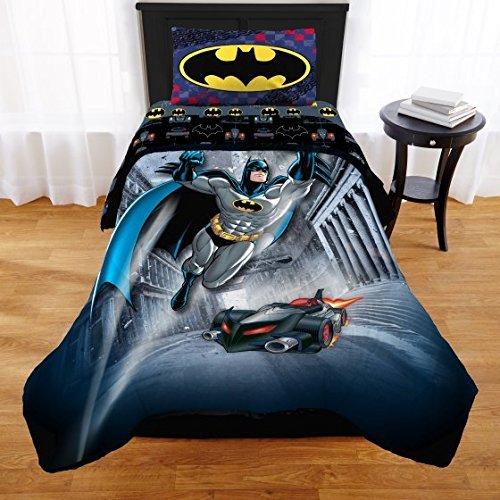 Batman Twin/Full Comforter and Sham