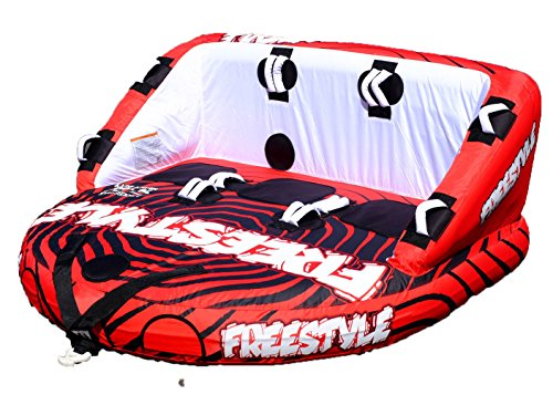 - Freestyle Squad 3 Person Towable Water Tube