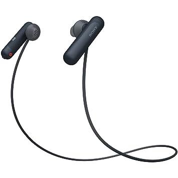 ソニー SONY ワイヤレスイヤホン WI,SP500 BQ  Bluetooth対応 NFC接続対応 防滴