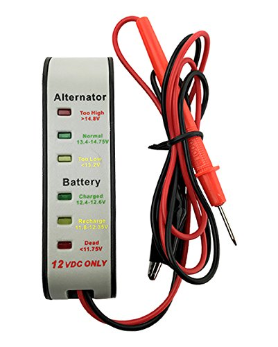 banshee Digital Battery and Alternator Analyzer Tester Monitor 2 Year Warranty