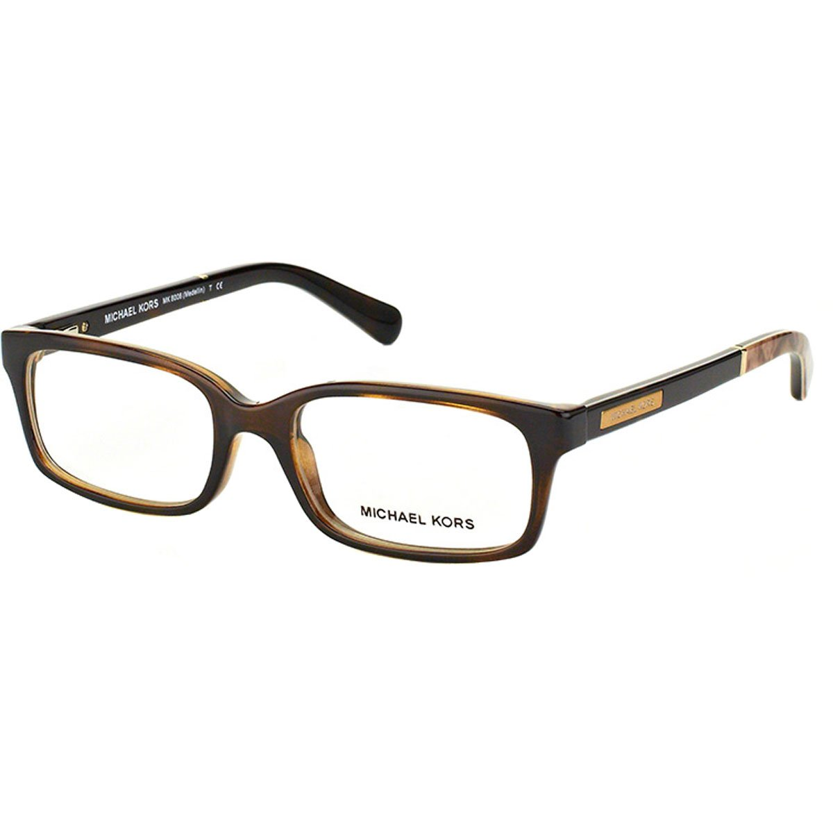 Amazon.com: Michael Kors 0 mk8006 óptico Full Rim rectángulo ...