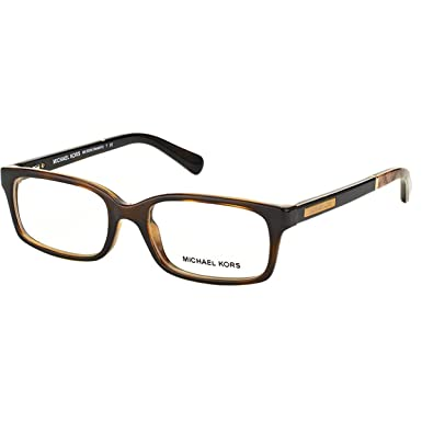 acd464788f Michael Kors MEDELLIN MK8006 Eyeglass Frames 3010-52 - Dark Tortoise Snake  MK8006-3010