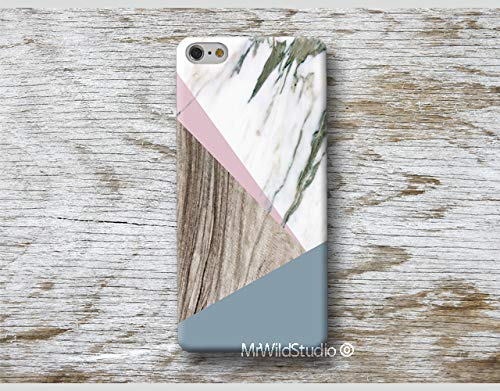 pink marble wood print Phone Case for iPhone X XR XS MAX 4 4s 5 5se se 5C 5S 6 6s 7 Plus iPhone 8 Plus iPod 5 6 cases skin .