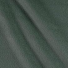 Polar Fleece Solid Dark Grey Fabric By The Yard