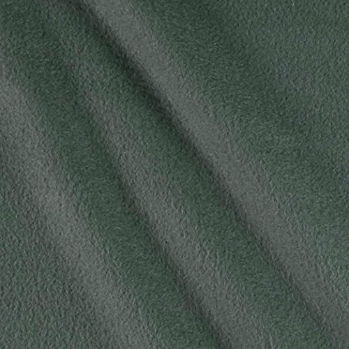 Grey Polar Fleece (Polar Fleece Solid Dark Grey Fabric By The Yard)