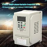 3HP 2.2kW AC 220V Single-Phase VFD Drive Inverter
