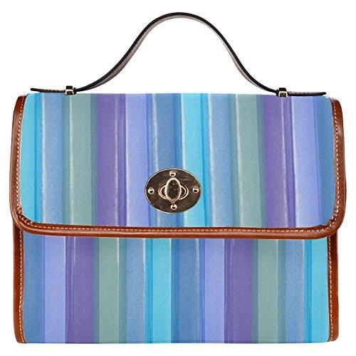 Interestprint Waterproof Canvas Bag Provence Fields Women Bags