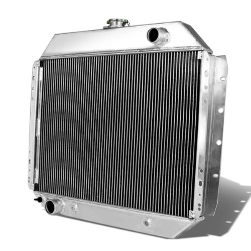 DNA Motoring RA-F10068-2 Aluminum Racing Radiator