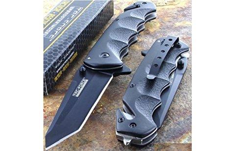 (Tac-Force Black TANTO BLADE Spring Assisted Tactical Folding Pocket Knife New!!!)