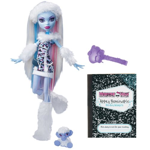 Monster High Abbey Bominable Doll Daughter of the Yeti by Monster High
