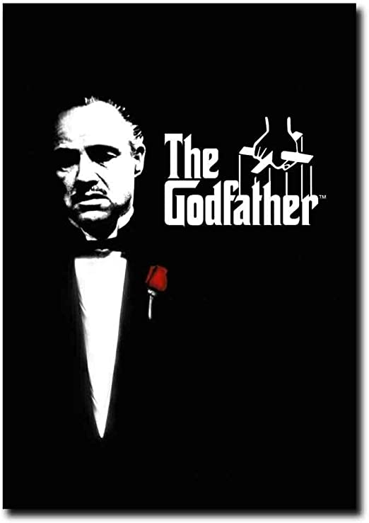 Amazon.com: The Godfather 1972 Marlon Brando Classic Movie Poster No Frame  (11 x 17): Posters & Prints