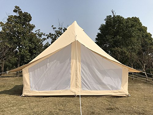 Dream House Weather Canvas Tent