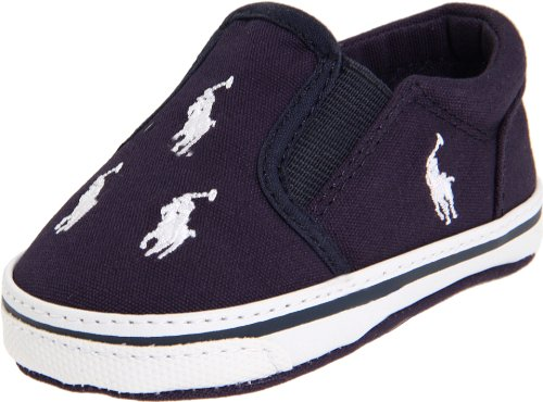 Lauren Baby Layette Ralph - Ralph Lauren Layette BAL Harbour Slip On (Infant/Toddler),Navy,2 M US Infant