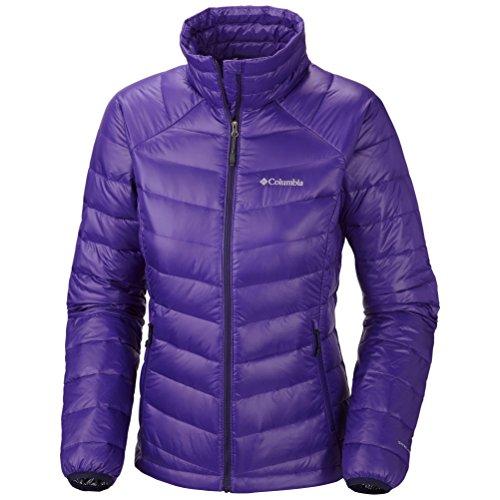Columbia Women's Platinum 860 Turbodown Down Jacket Hyper Purple Medium