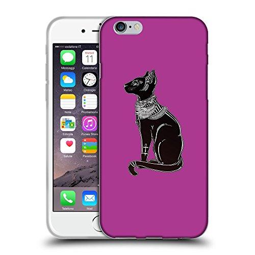 "GoGoMobile Coque de Protection TPU Silicone Case pour // Q08090621 Goddess Bastet 1 byzantin // Apple iPhone 6 PLUS 5.5"""