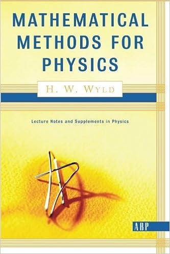 Mathematical Methods For Physics (Advanced Books Classics): H  W