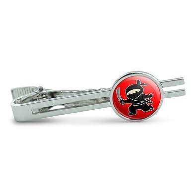 Amazon.com: Sneaky Ninja Attacks Mens Tie Clip Tack Bar ...