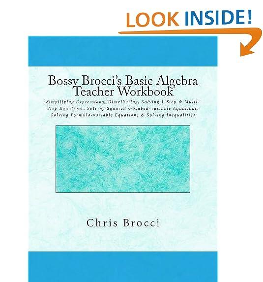 Algebra 1 Common Core Teacher: Amazon.com