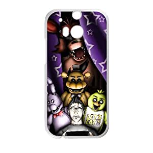 Five Nights At Freddy'S Htc One M8 Cell Phone Case White WON6189218029004