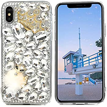 Amazon.com: iPhone X, WwWSuppliers Luxury Fancy Bling Fox ...