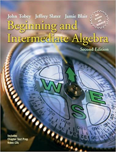 Beginning and intermediate algebra 2nd edition john tobey beginning and intermediate algebra 2nd edition john tobey jeffrey slater jamie blair 9780131492035 amazon books fandeluxe Gallery