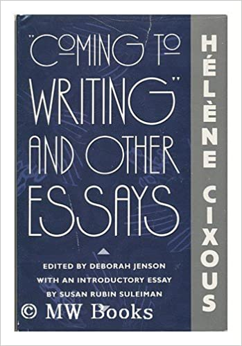 cixous coming to writing pdf