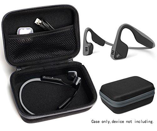 Bone Conduction Headphone Case for Aftershokz AS600 Trekz (SG/OB/IG/SG), Bluez 2, 2S AS500 (S/SM/SR/SN), AS451XB; KSCAT, Sades, allmity, Yaklee, Abco Tech, LQING, longee, HYON, 4inloveme, koar
