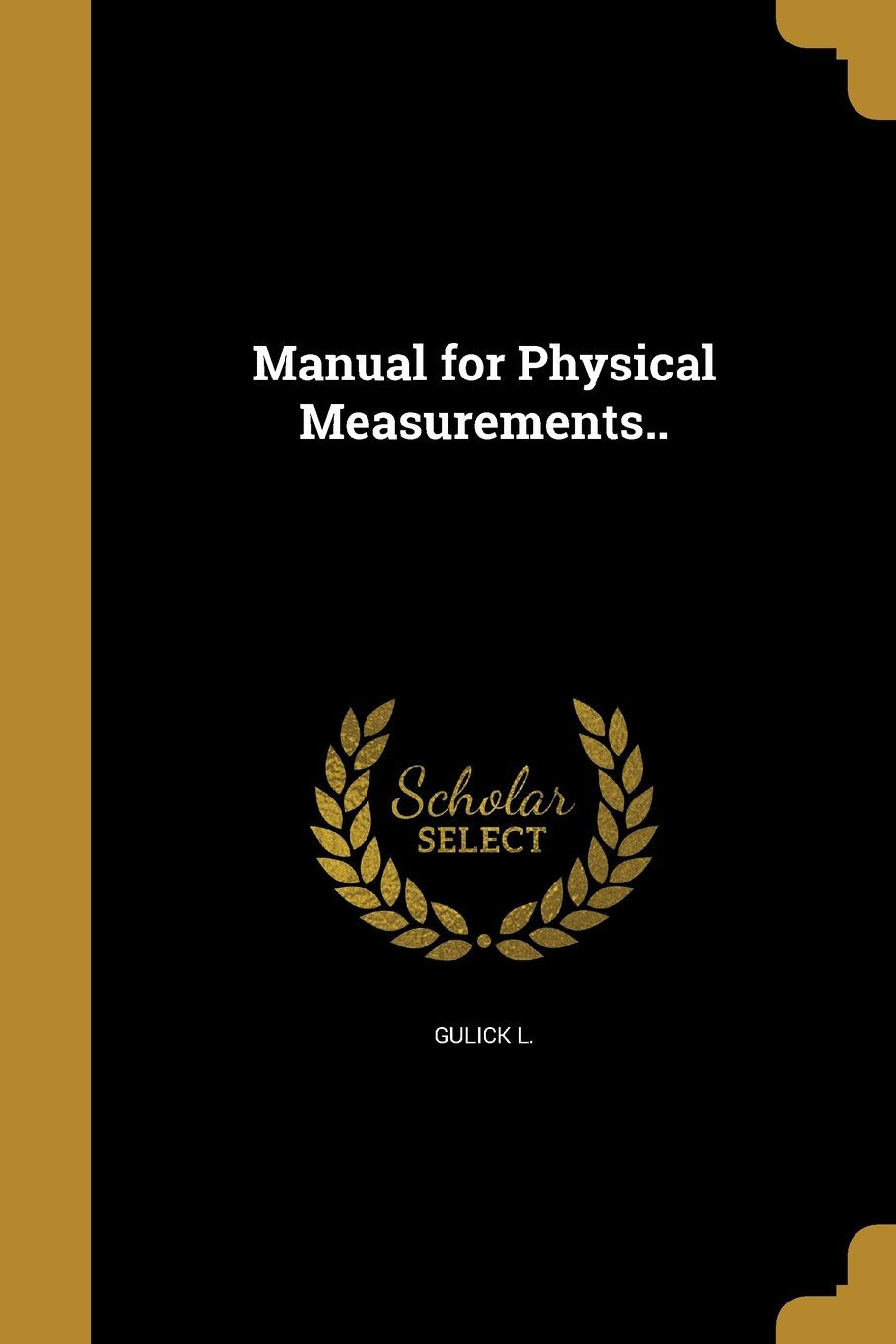 Download Manual for Physical Measurements.. ebook