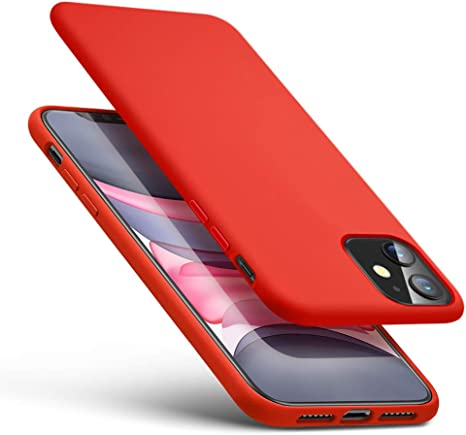 TesRank Cover iPhone 11 Morbido TPU Custodia Slim Protezione Anti