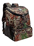 Large Padded Backpack Cooler – Fully Insulated, Leak and Water Resistant, Adjustable Shoulder Straps, Extra Storage Pockets – Camo – by GigaTent Review