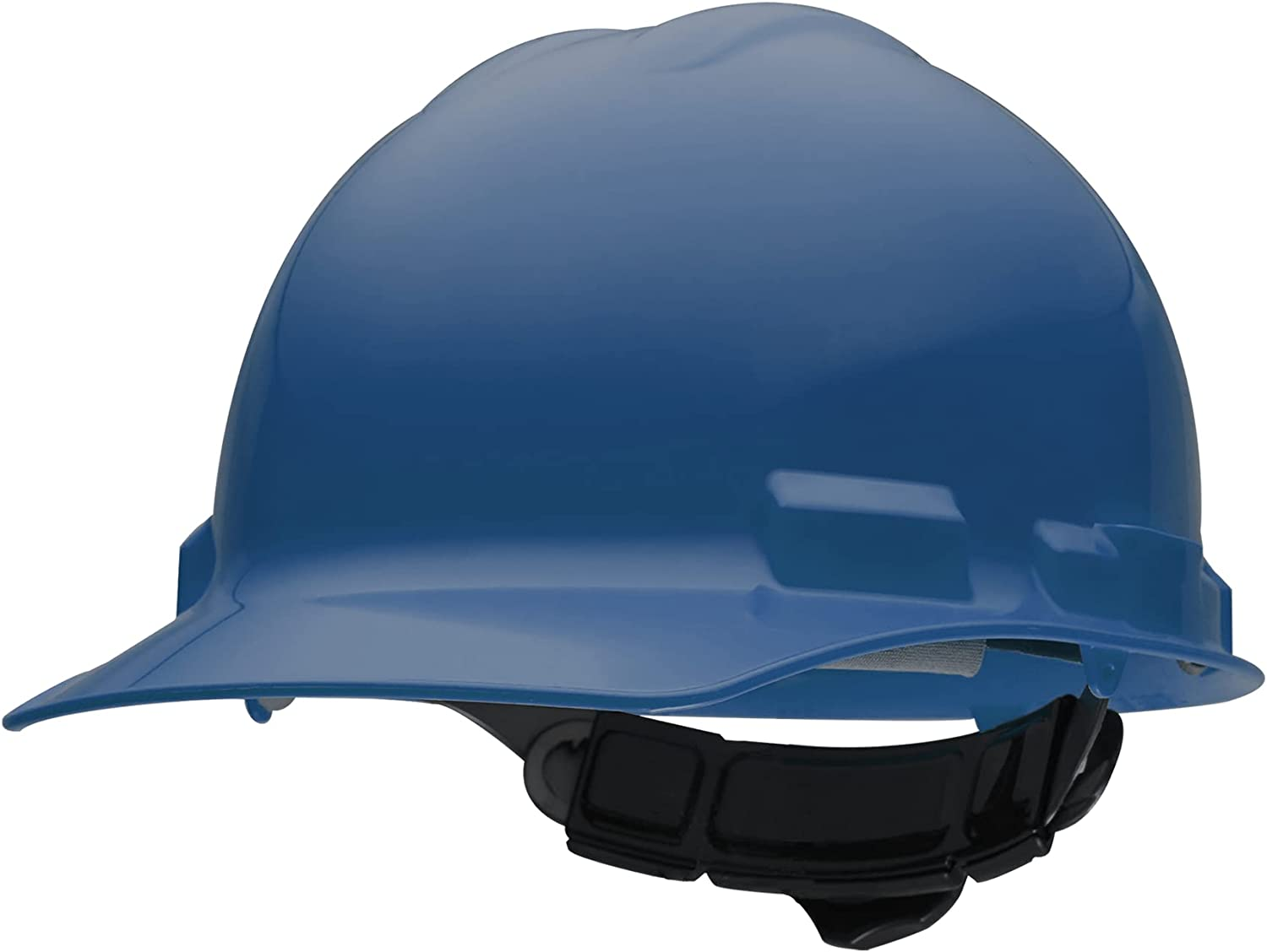 Ironclad Hard Hat Yukon ES600, Made in USA, Standard Brim, 6 Point Suspension, Class E, Color Blue (G60101) - -