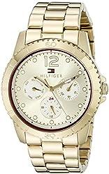 Tommy Hilfiger Women's 1781583 Analog Display Quartz Gold Watch