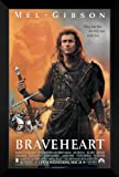 Braveheart FRAMED 27x40 Movie Poster: Mel Gibson