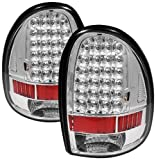 Spyder Auto ALT-ON-DC96-LED-C Dodge Caravan/Grand Caravan/Dodge Durango/Chrysler Town and Country/Plymouth Voyager/Grand Voyager Chrome LED Tail Light