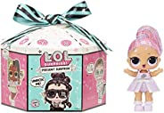 LOL Surprise Present Surprise Series 2 Glitter Shimmer Star Sign Themed Doll with 8 Surprises, Accessories, Do
