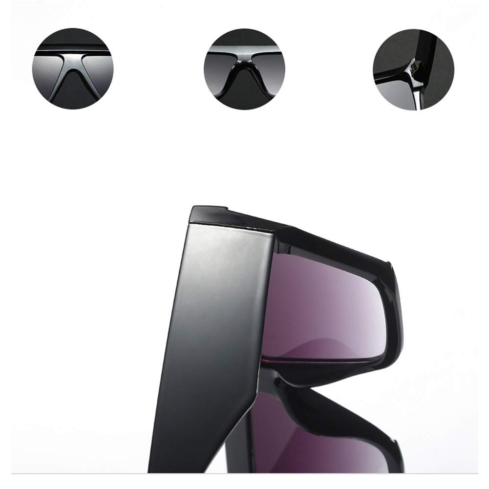 Amazon.com: Gafas de sol rectangulares de gran tamaño para ...