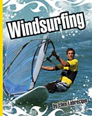 Action-packed overview of the sport of windsurfing, its origins, and the equipment required.
