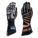 Sparco Arrow RG-7 Racing Gloves 01352A (Size 7, Black/Orange)