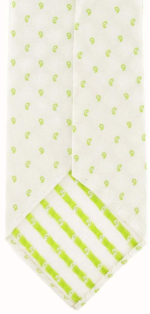 New Finamore Napoli White Tie