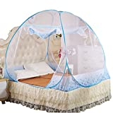 Mosquito Net Bed Canopy,Chartsea Mosquito Nets Bottomed Keeps Away Insects & Flies House Indoor Outdoor Play Tent (Blue(M))