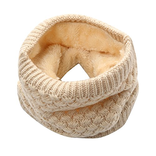 Hot Sale Knitted Scarf for Women&Men,WUAI Clearance Unisex Winter Warm Scarf Knitted Thickness Scarf (Khaki,Free Size)