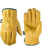 Men's HydraHyde Grain Cowhide Leather Work Gloves (Wells Lamont 1168)