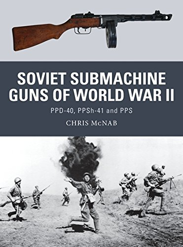 Soviet Submachine Guns of World War II: PPD-40, PPSh-41 and PPS - Gun Submachine Ppsh