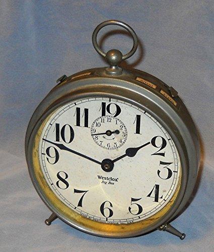 Home Comforts Framed Art Your Wall Antique Vintage Alarm Big Ben Alarm Clock Time 10x13 Frame