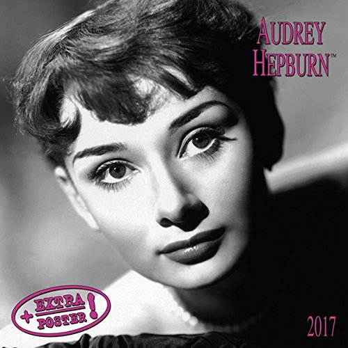Audrey Hepburn distribution only in DE 2017: Kalender 2017 (Artwork Extra)